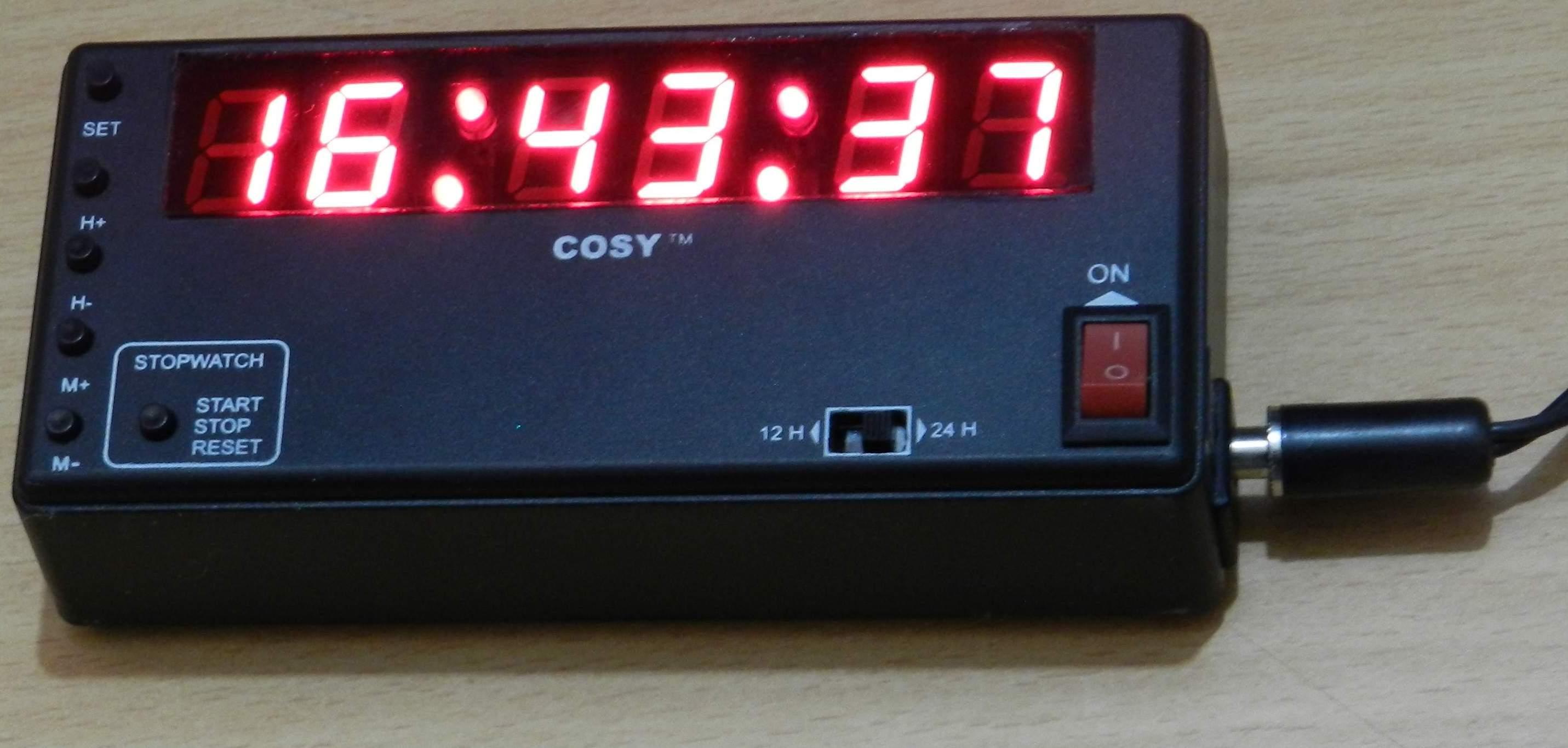 rally clock